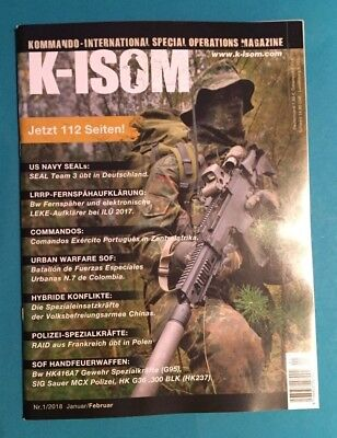 K-Isom Special Operations Magazin Nr.1/2018 Jan./Feb. ungelesen 1A absolut TOP