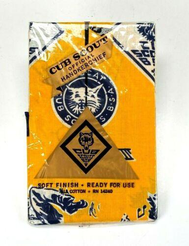 VTG Cub Scout BSA Official Handkerchief Cotton RN 14240