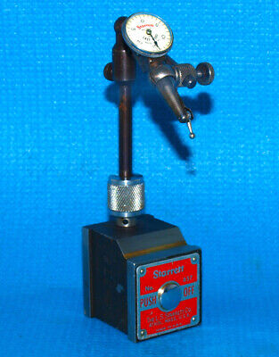 Starrett 657-a Magnetic Base Last Word 711 Dial Indicator