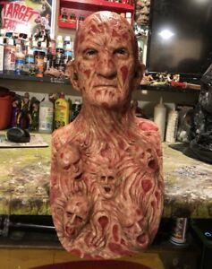 Life size Freddy Krueger display bust with chest of souls!