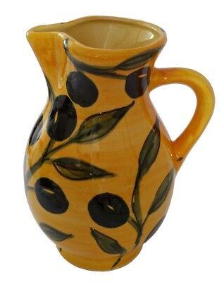 Wine Jug 1.25 litre 20x15 cms Traditional Spanish Handmade Ceramic Pottery