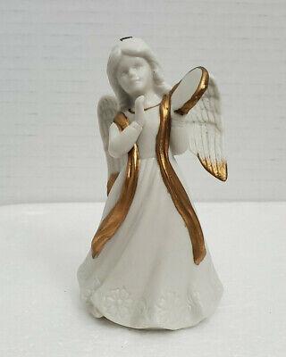"Vintage Homco Christmas Tree Angel Ornaments Holiday Decor Thailand 4"""