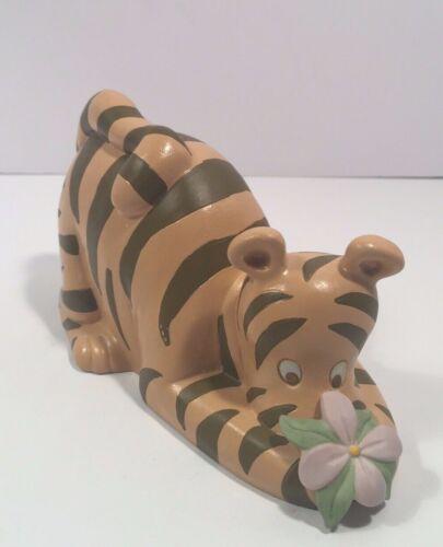 TIGGER PIGGY COIN BANK Porcelain Classic Winnie-the-Pooh Disney in Box Vintage
