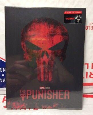 New The Punisher Blu Ray Full Slip Steelbook  W Lenti Magnet  Filmarena Fac 82