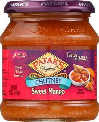 Chutney - Sweet Mango - Mild (6 - 12 - Mango Sweet Chutney