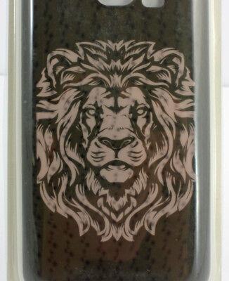 Dl Net (Samsung S6 Networx 3D Case Löwe Lion Hologramm-Look Cover Hülle UP 2897 DL20)