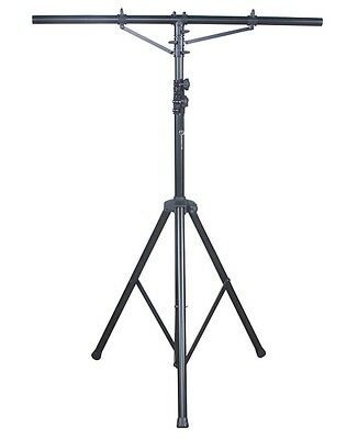 NEW! AMERICAN DJ LTS-2 Aluminum Black Heavy Duty 12 Ft Tripod T-Bar Light Stand