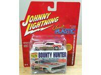 JOHNNY LIGHTNING  CLASSIC PLASTIC HAWAIIAN 1971 DODGE CHARGER FUNNY CAR #06