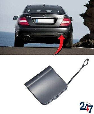 Front Bumper Tow Hook Cover Cap Primered for Mercedes W204 C300 C280 C350 07-11
