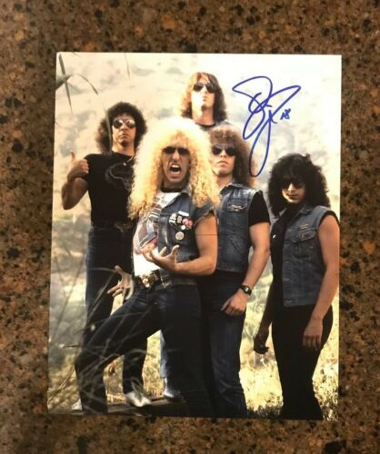 * DEE SNIDER * signed autographed 11x14 photo * TWISTED SISTER * PROOF * 2