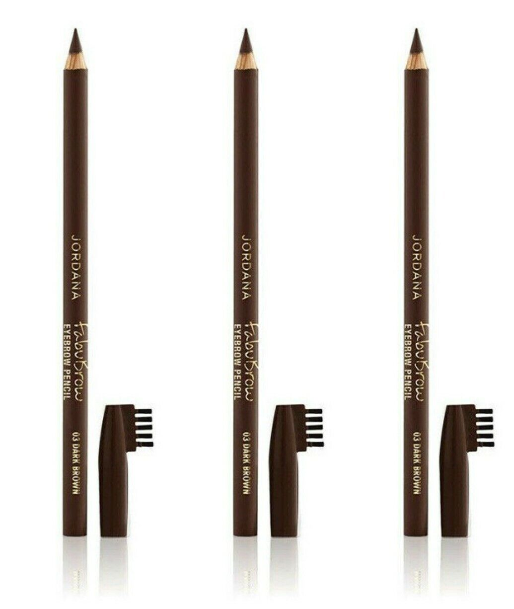 JORDANA Fabubrow Eyebrow Pencil-Dark Brown