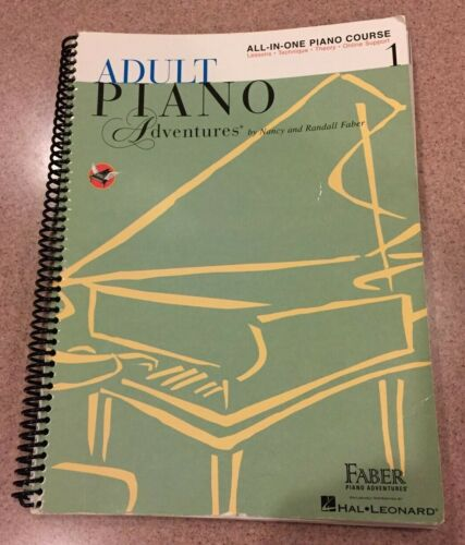 Adult Piano Adventures All-In-One Lesson Book 1 Faber