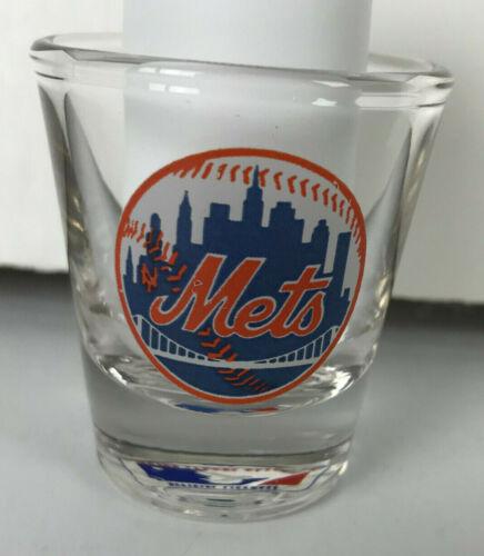 """New York Mets Baseball MLB Shot Glass 2-1/4"""" Logo Papel"""