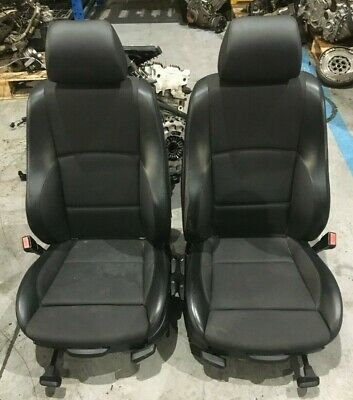 Genuine Used Black Half Leather Front Seats Seat for BMW E87 1 Series 5 Door