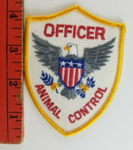 Vintage Animal Control Officer Patch