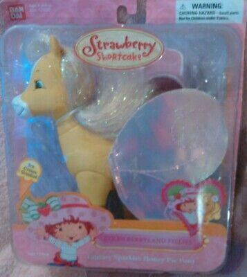 Strawberry Shortcake Strawberryland Fillies Fantasy Sparkles Honey Pie Pony Strawberry Shortcake Honey Pie