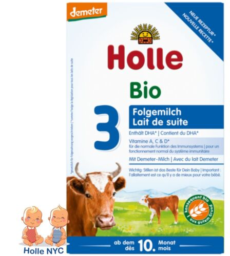 Holle Stage 3 Organic Infant Formula with DHA 600g Free Shipping