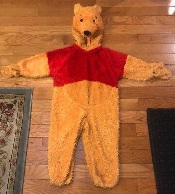 Disney Store Winnie the Pooh Bear Halloween Costume Size XS Full Body -