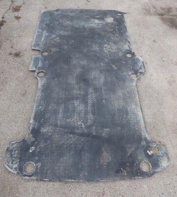 VW T5 T6 Transporter LKW Hinten Bodenmatte Teppich Bodenbeleg  GUMMI  Bj.2011 ()