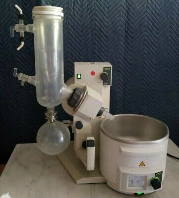 Buchi R-210 Rotary Evaporator Rotovap W Glassware B-491 Bath Working Great