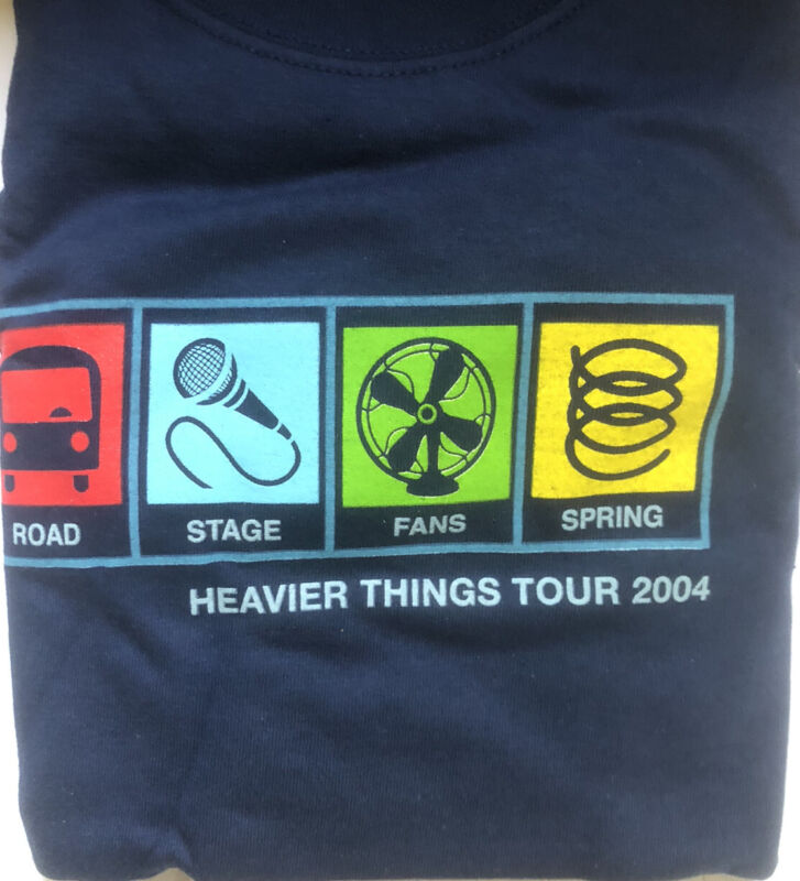 John Mayer -Heavier Things Tour 2004 Tee-Shirt Long Sleeve. Adult L Never worn