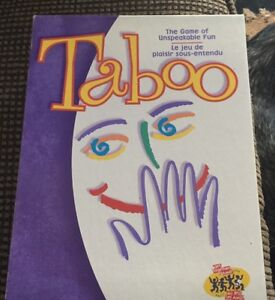 Taboo the game