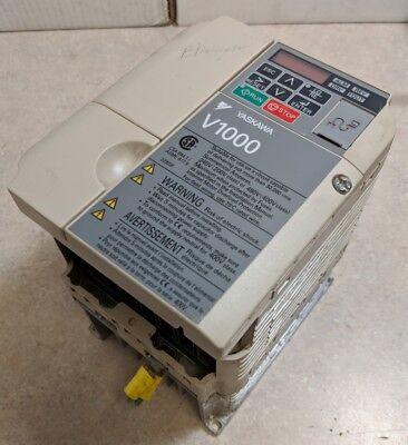 Yaskawa Cimr-vu4a0005faa V1000 Ac Drive Fully Tested