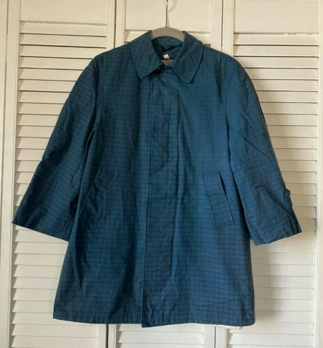 Vintage Kids Aqua Haven All Weather Robert Hall Blue Jacket, sz 12