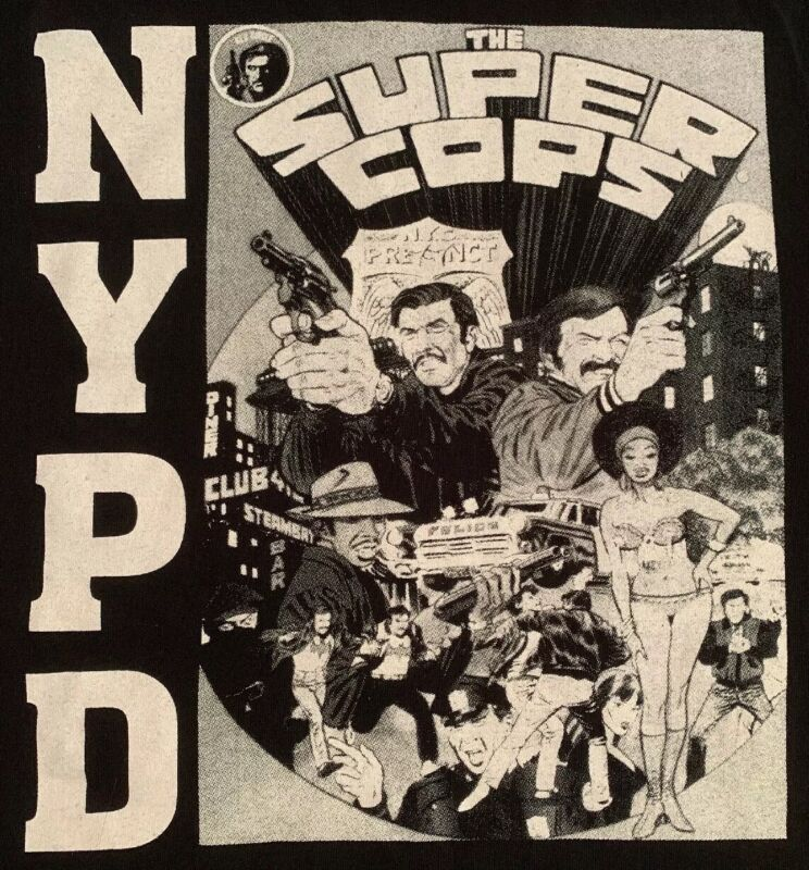 NYPD New York City Police Department T-Shirt Sz XL New NYC