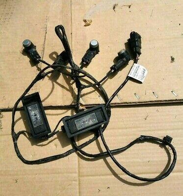 Rear Wiring Loom+Plate lights+parking sensors-PEUGEOT 407 COUPE-PN 9655922380