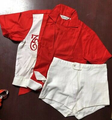 d443b6a3c6acb VINTAGE 50s Men's Swim Set Dead Stock Mid Century Palm Springs Las Vegas  Lounge
