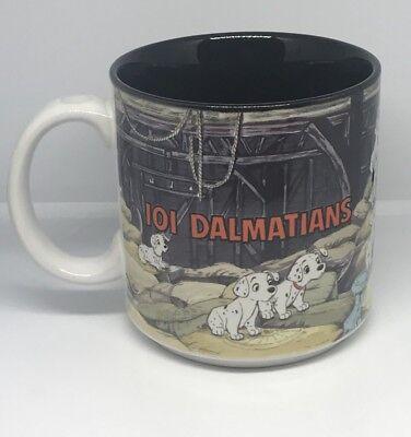 Vintage 90s Disney Store Exclusive 101 Dalmations Cruella Deville Mug