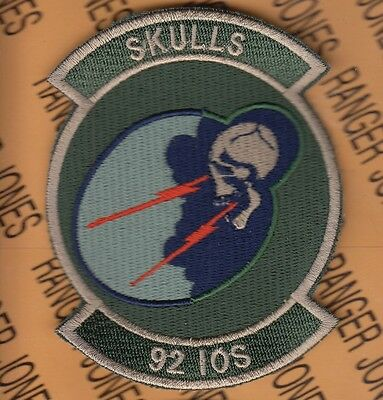 Air Force Pocket Patch (USAF Air Force 92D INFORMATION OPERATIONS SQUADRON IOS OCP 4