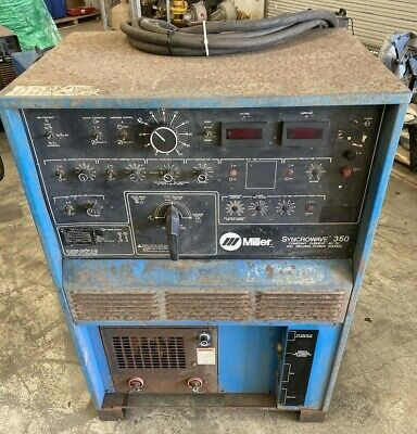 Miller Syncrowave 350 Constant Current Acdc Arc Welding Power Source