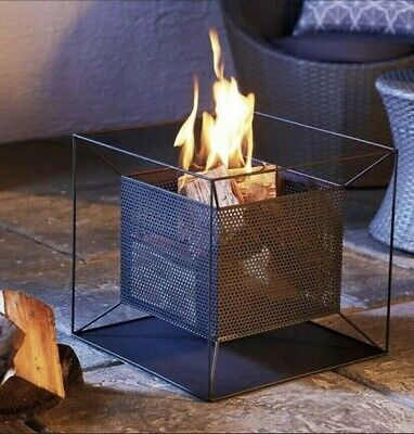 Gardenline Square Fire Basket Pit Bowl Garden Brand New ✅ Fast Delivery 📦