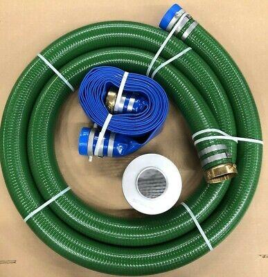 Jgb Enterprises Eagle Hose Pvcaluminum Watertrash Pump Hose Kit 3greenblue