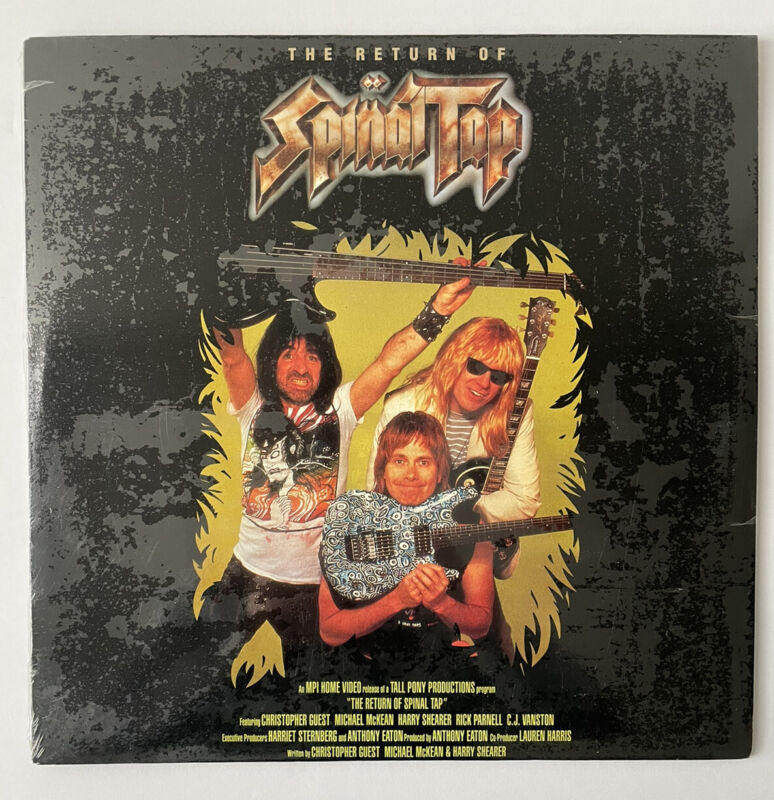 The Return of Spinal Tap Heavy Metal Band Music LaserDisc Edition NEW SEALED