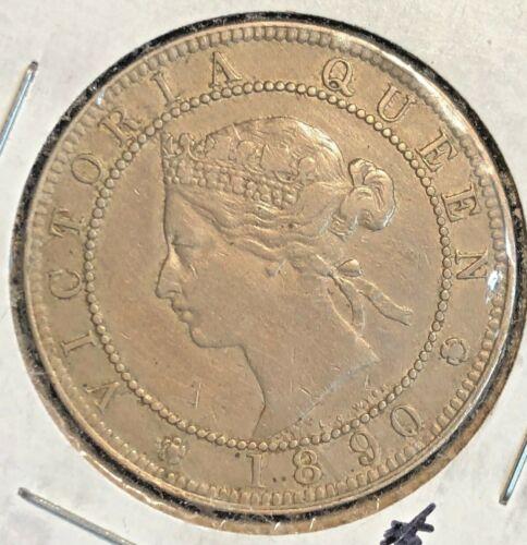 Jamaica 1890 Penny  KM 17