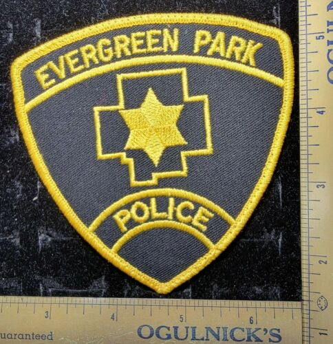 Evergreen Park Police Department Officer Patch