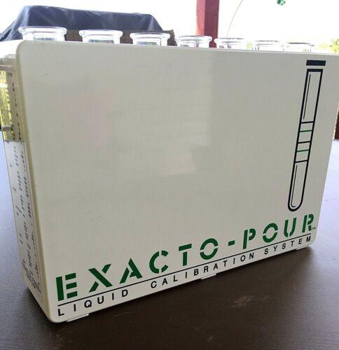 Exacto-Pour 7 Tube Liquid Calibration System, Bartender Training Kit