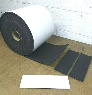 Neoprene Sponge Rubber Sheet Wpeel-back Adhesive 18 Thk X 6 W X12 L Pad