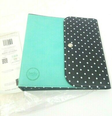 New Becky Higgins Project Life Planner Turquoise 3 Ring Binder 6 X 8 Inserts