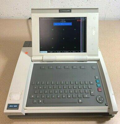 Ge Marquette Mac 5000 Ekg Ecg System