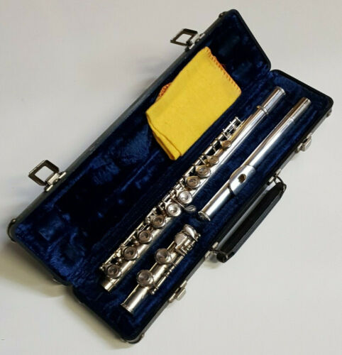 Flute In C - Silver Plated with Hard Case - Full Student Beginner Outfit -- 30