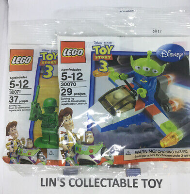 Lot Of 2 LEGO Toy Story 3 Polybags 30070 +30071