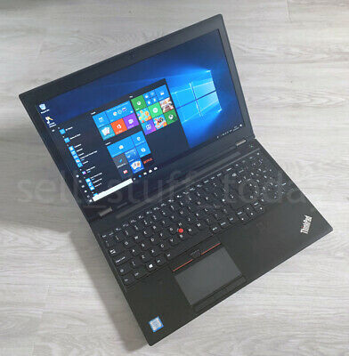 Lenovo ThinkPad P50 CAD/Gaming i7 laptop, 8GB/256SSD, Quadro M1000M, good -3Q