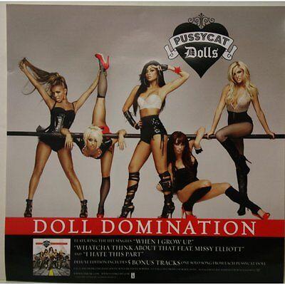 PUSSYCAT DOLLS Doll Domination PROMO POSTER 2008 16x16 NICOLE SCHERZINGER