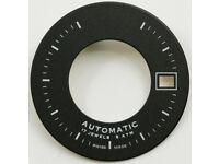 Dial for Eta 2824-2 2804-2 2801-2 Movement Ø 32,05mm Cadran Esfera  NOS Black #3