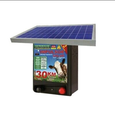Electric Fence Energizer Solar 30km 80 Hectares 197 Acres Brand Electricercas