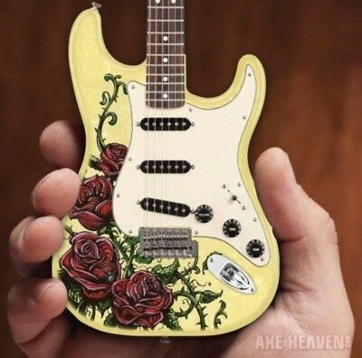David Lozeau Fender RosesTattoo Mini  Model By Axe Heaven Officially Licensed